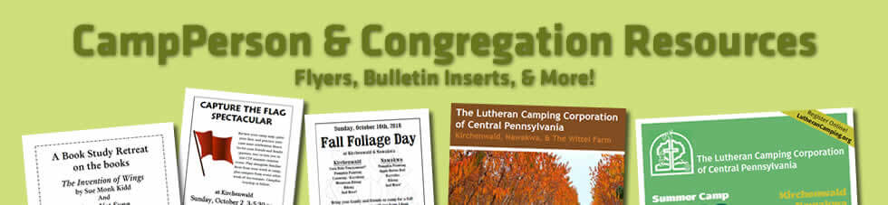 CampPerson & Congregation Resources